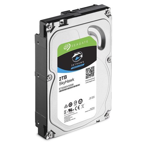 HDD Seagate 2TB Skyhawk Sata (video)