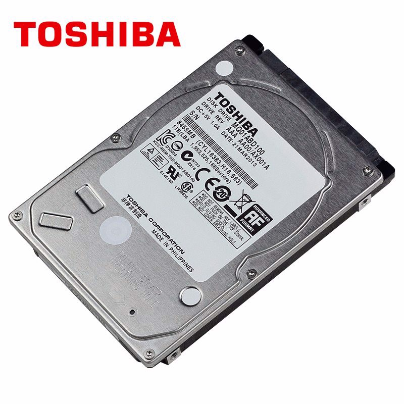 Toshiba Internal 1TB HDD 5400rpm 3MB