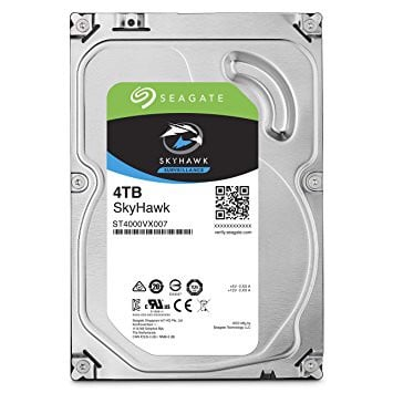 HDD Seagate 4TB Skyhawk Sata (video)