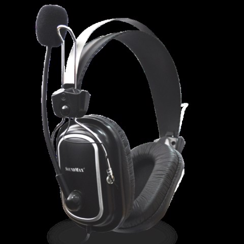 HEADPHONE SOUNDMAX COMPORT HEADSET AH-302