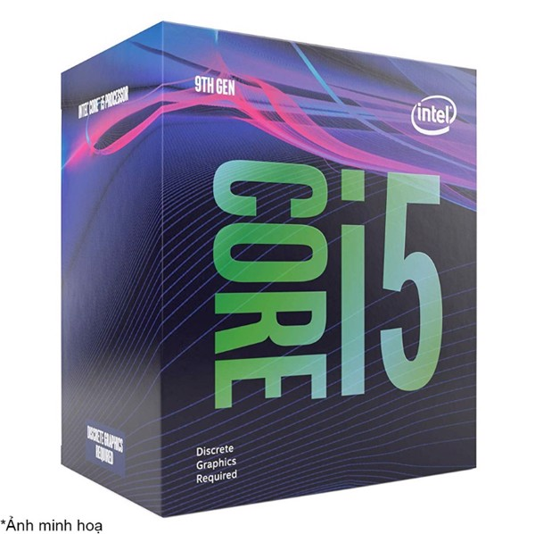 Bộ vi xử lý/ CPU Intel Core i5-9400F (9M Cache, up to 4.10GHz)