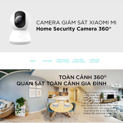 Camera Xiaomi HOME SECURITY 360°