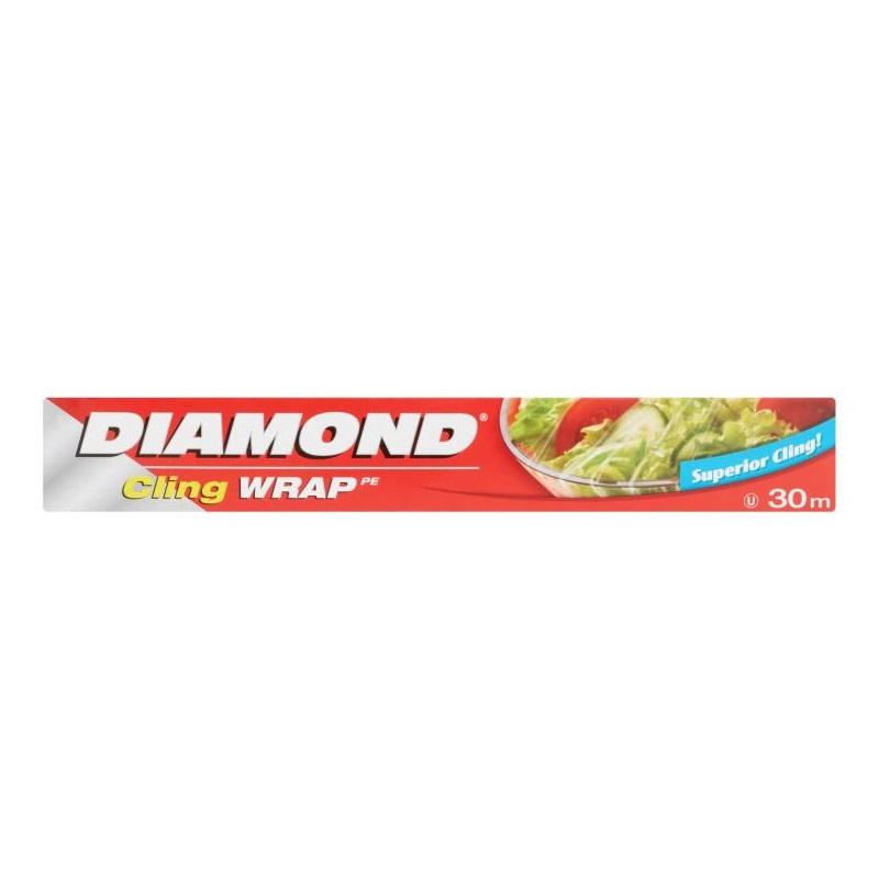 MÀNG BỌC THỰC PHẨM PE DIAMOND 30CM*30M
