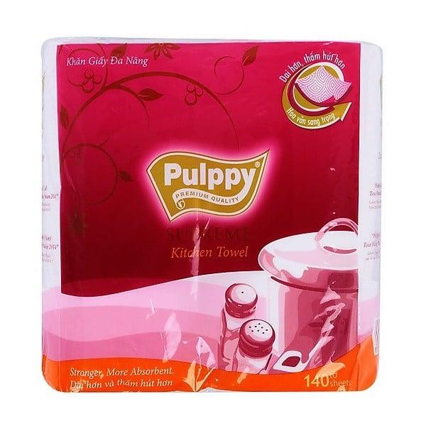 Khăn Giấy Đa Năng Pulppy Supreme 2 Cuộn