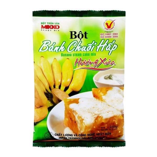 Bột Bánh Chuối Hấp MIKKO 250g