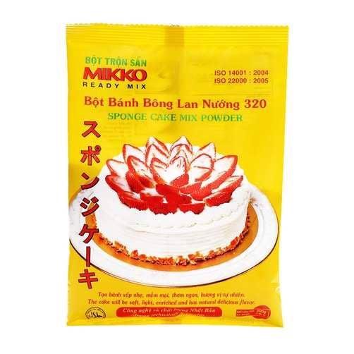 Bột Bánh Bông Lan Nướng MIKKO 200g