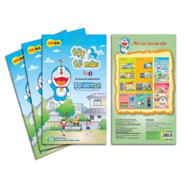 Tập Tô Màu CB-07/DO 24T | Thien Long CB-07 / DO Coloring Book