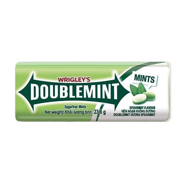 Kẹo Ngậm Doublemint Spearmint Tuýp 35 Viên