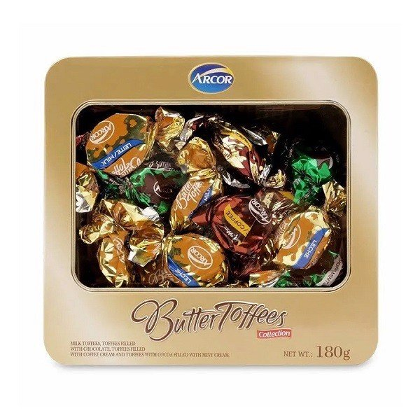 Kẹo Arcor Butter Toffees 180g