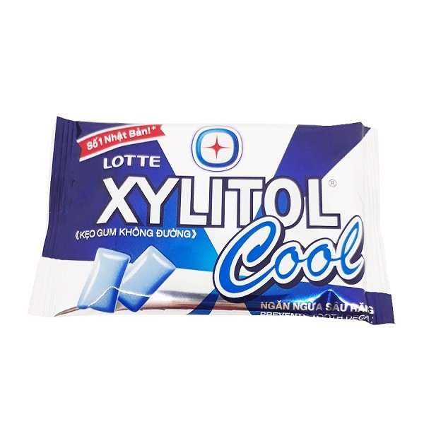 Kẹo Cao Su Lotte Xylitol Cool 11,6g