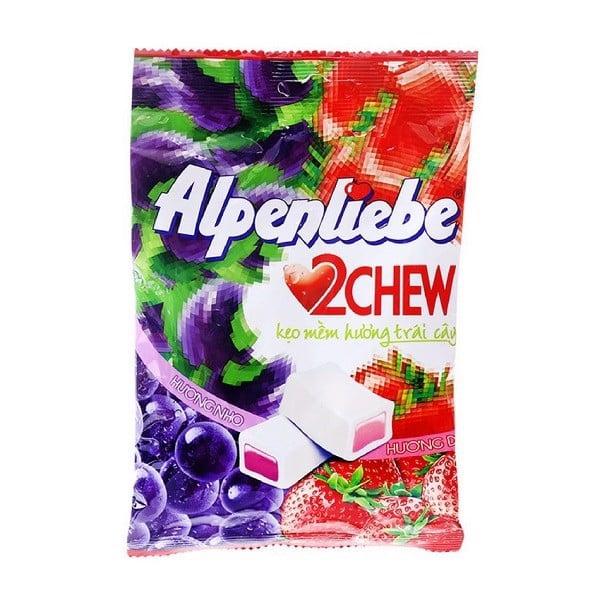 Kẹo Mềm Alpenliebe 2 Chew Gói 25 Viên