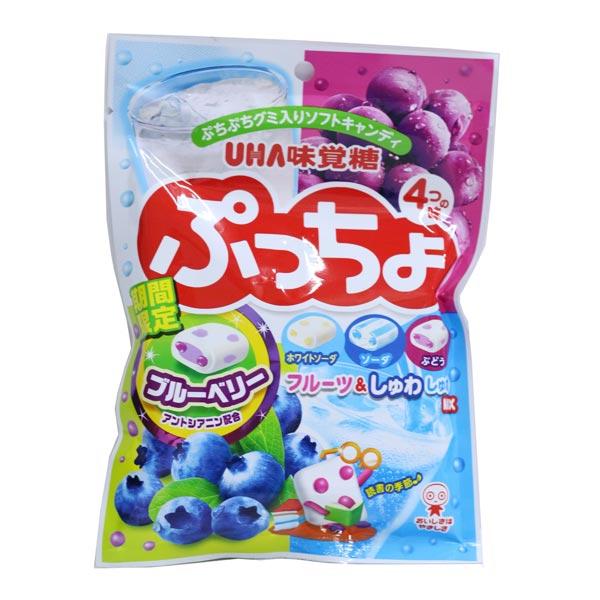 Kẹo Sữa Hoa Quả Nhật  UHA 100G C6