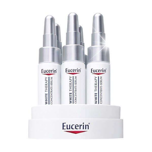 Tinh Chất Sáng Da Eucerin Sensitive Skin White Therapy Clinical Concentrate Serum 5ml x 6 Ống