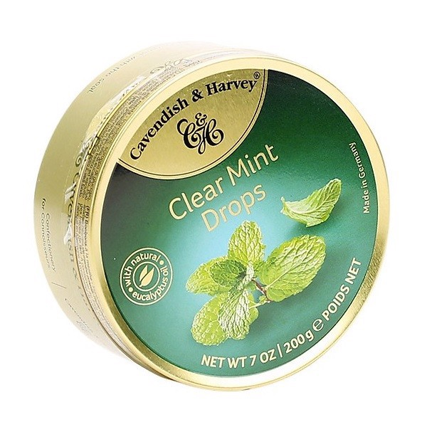 Kẹo Cavendish & Harvey Mint 200g
