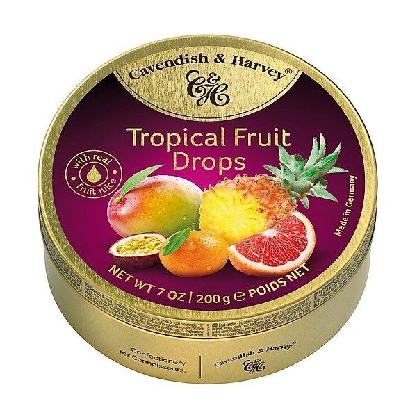 Kẹo Cavendish & Harvey Tropical Fruit 200g