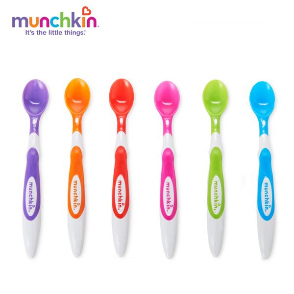 Bộ 6 Thìa Mềm Munchkin MK10062 - Nhiều Màu
