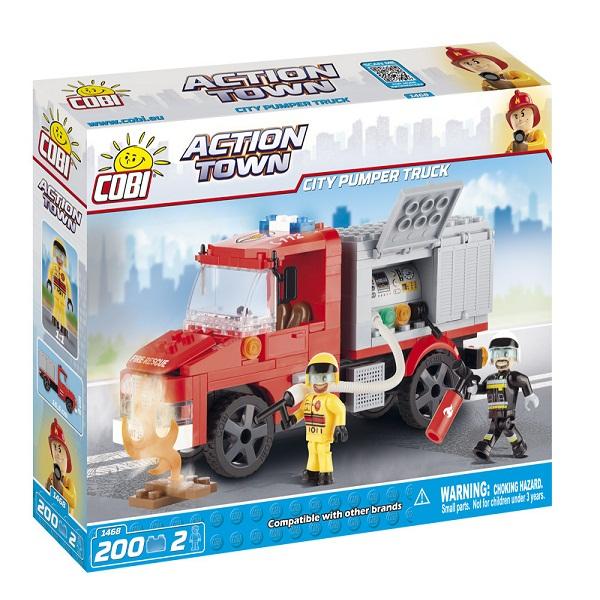 TLM COBI 1468 LẮP RÁP XE CỨU HỎA THÀNH PHỐ | Cobi - Action Town 1468 - City Pumper Truck