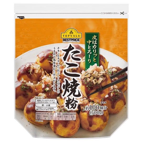 Set Bột Làm Bánh Takoyaki Aeon Topvalu Gói 500g