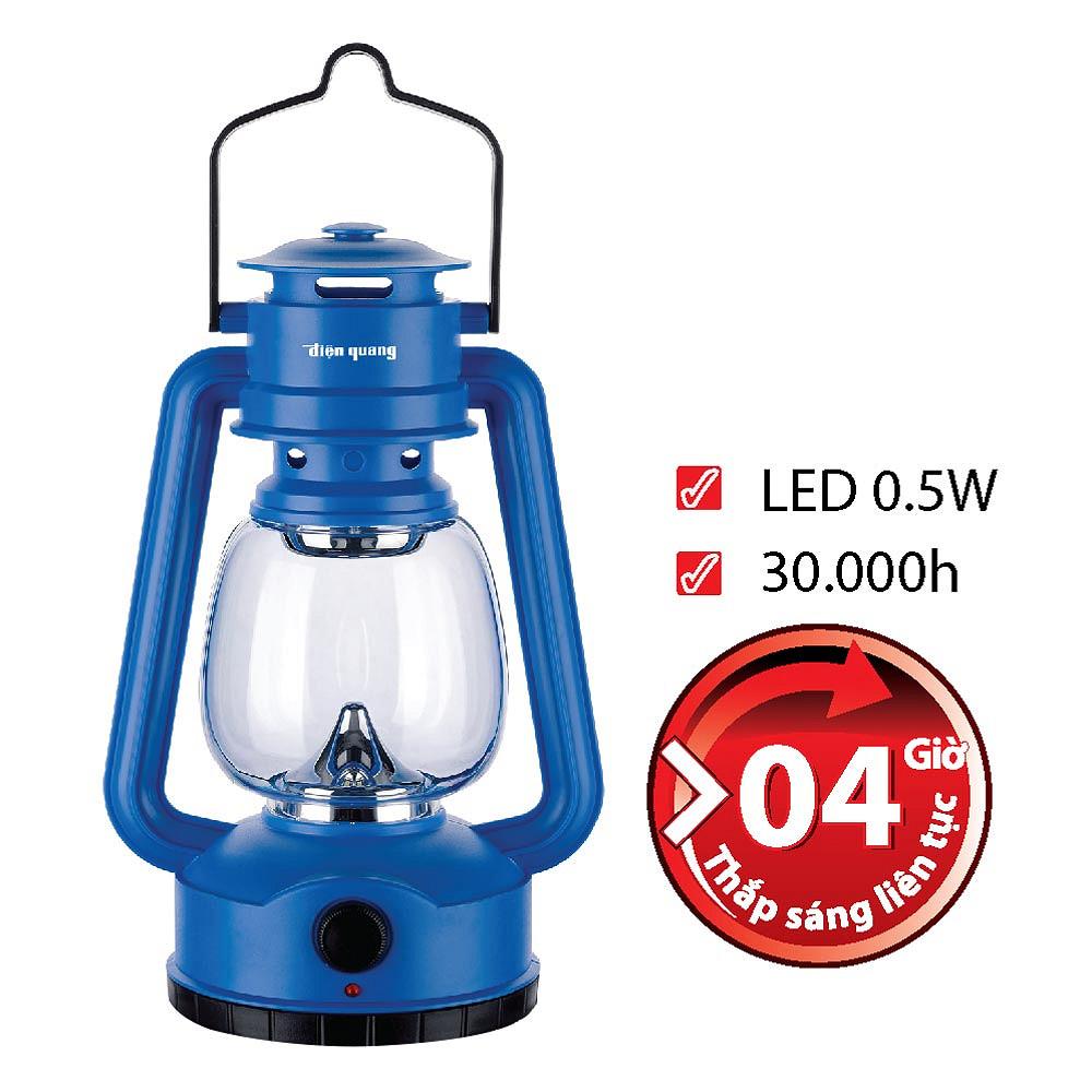 Đèn Sạc Led Điện Quang ĐQ PRL04 B (0.5W, Daylight, Xanh Dương)