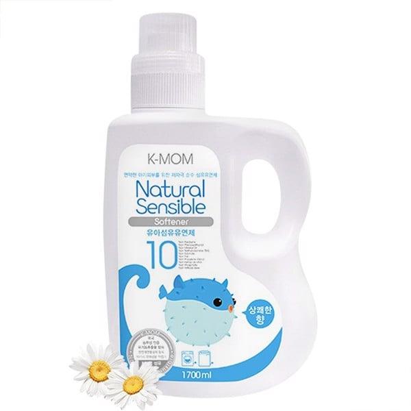 Nước Xả Vải K-Mom Organic KM13162 Chai 1.7L