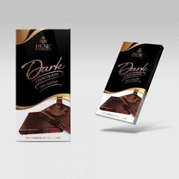 Kẹo Socola Mark&Milk Đen 72% Thanh 50g