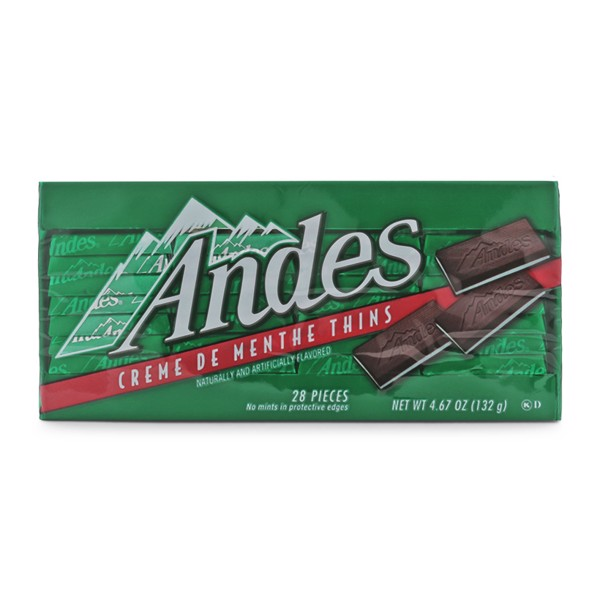 Kẹo Socola Bạc Hà Andes 132g