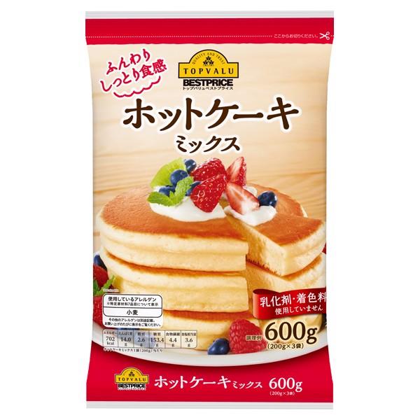 Bột Làm Bánh Hotcake Trộn Sẵn Aeon Topvalu 600g