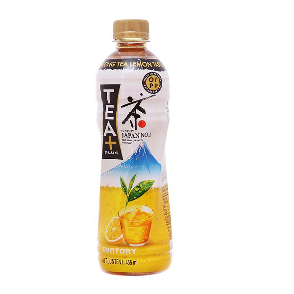 Trà Olong Tea Plus + Chanh 455ml