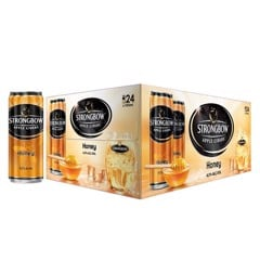 Thùng 24 Lon Cao Strongbow Apple Ciders Honey 330m