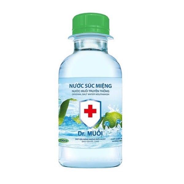 Nước Súc Miệng Dr.Muối Hương Vỏ Chanh 100ml