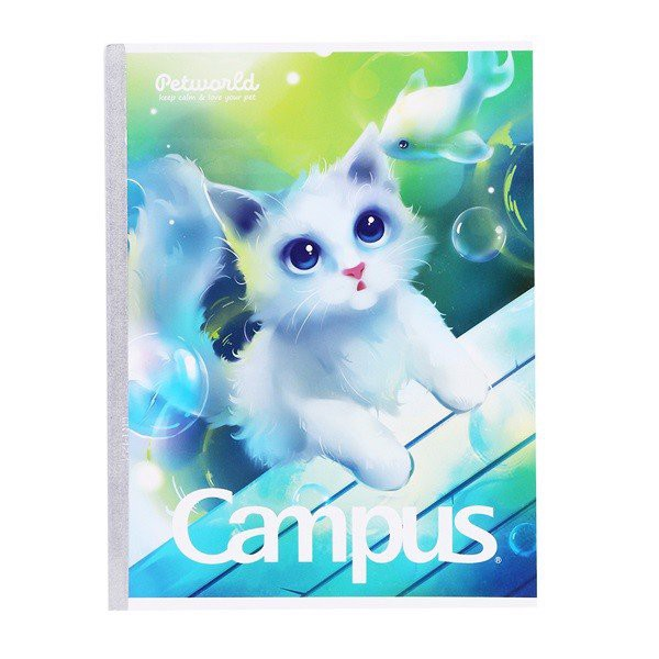 Vở B5 Campus 4 Ô Ly Pet 48 Trang NB-BPET48