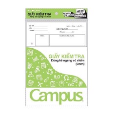 Giấy Kiểm Tra Campus TP-BS70G-25