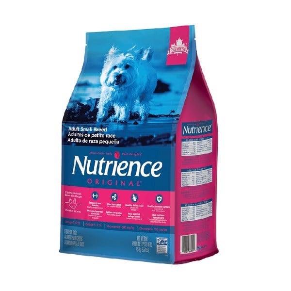 Thức Ăn Chó Trưởng Thành Kích Thước Nhỏ Nutrience Original 2.5kg
