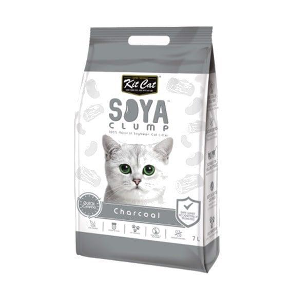 Cát Vệ Sinh Mèo Đậu Nành Than Kitcat 7L