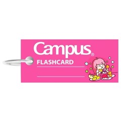 Flashcard Emoji Girl Campus FCS-EMJ85-G