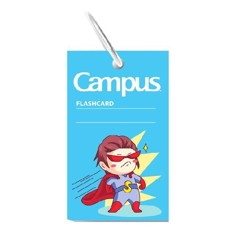 Flashcard Emoji Boy Campus FCM-EMJ85-B