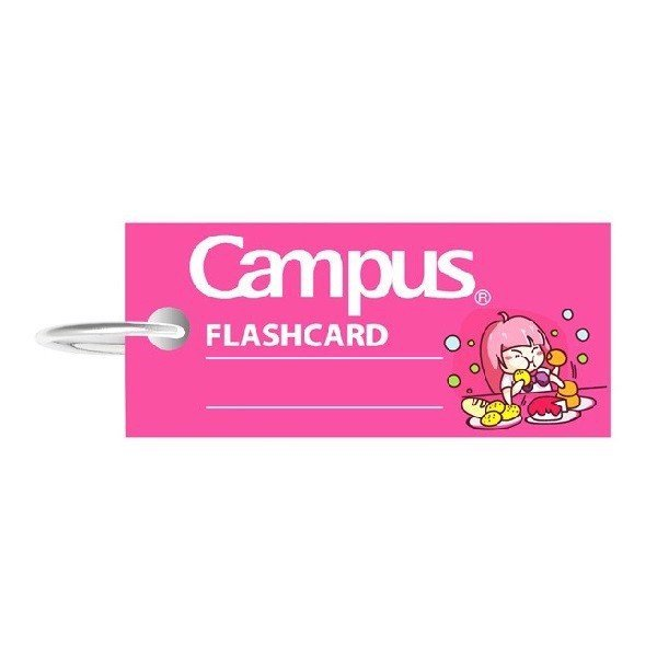 Flashcard Emoji Girl Campus FCM-EMJ85-G