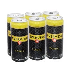 Lốc 6 Soda Evervess Tonic 330ml