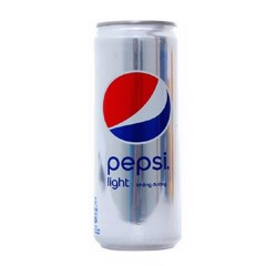 Lốc 6 Pepsi Light Sleek Lon 330ml