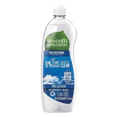 Nước Rửa Chén Seventh Generation Fresh & Clear Chai 750ml