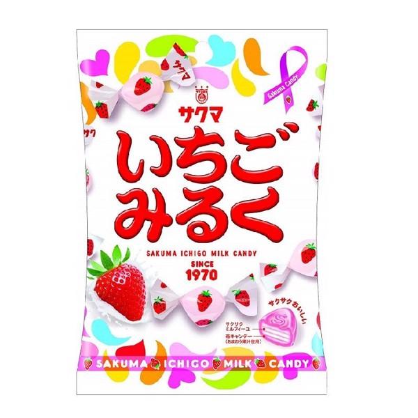 Kẹo Vị Sữa Dâu Sakuma Ichigo 100g C20
