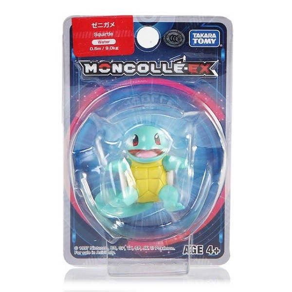 Moncolle #3 Squirtle Takara Tomy TM968528