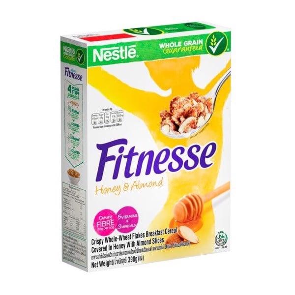 Bánh Ăn Sáng Nestlé Fitness Honey, Almond 390g
