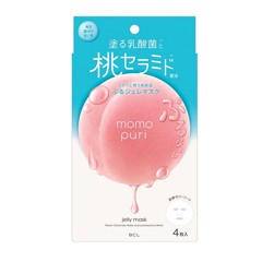 Mặt Nạ Giấy Momopuri Jelly Mask Hộp 4 Miếng
