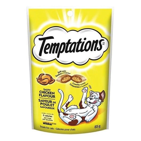 Bánh Thưởng Cho Mèo Vị Gà Temptations 85g