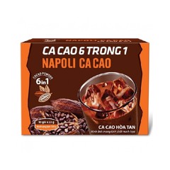 Cacao Napoli 6 In 1 10x22g