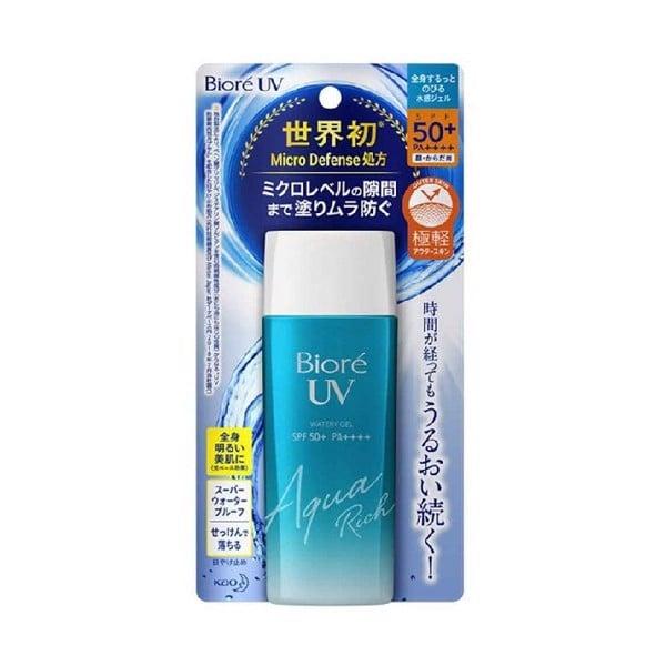 Gel Chống Nắng Biore UV Màng Nước Dưỡng Ẩm SPF50+/PA++++ 90ml