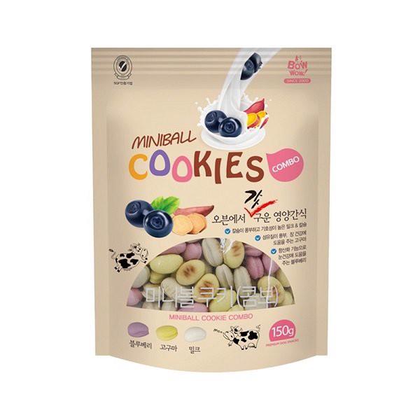 Bánh Cookies Hỗn Hợp Bowwow 150g