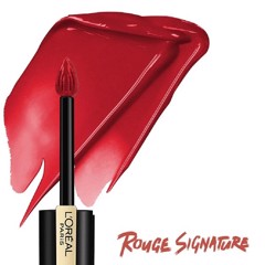 Son Kem Lì L'Oreal Paris Rouge Signature #666 I Win Đỏ Tươi 7ml