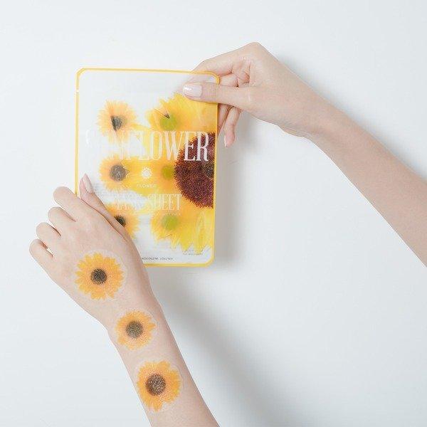 Hình ảnh Mặt Nạ Lát Hoa Hướng Dương Kocostar Sunflower Flower Mask Sheet 20ml (Store 5871,5873)